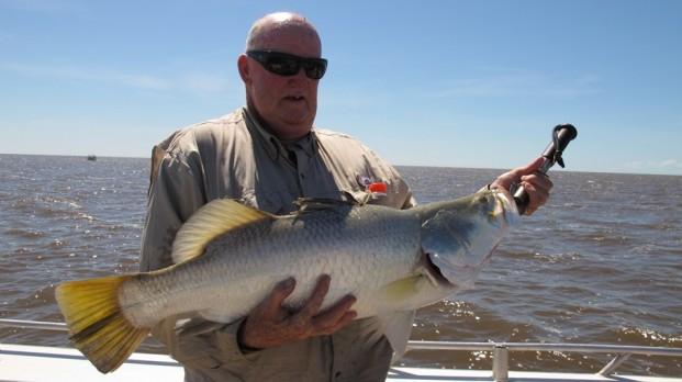 darwin run off fishing extended charter