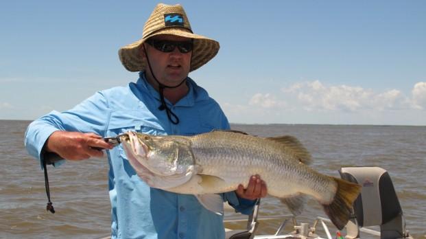 shady camp fishing run off 2012