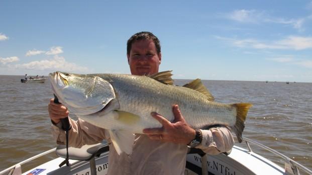 fishing darwin run off barramundi 2012