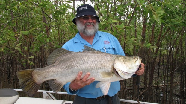 barramundi fishing shady camp