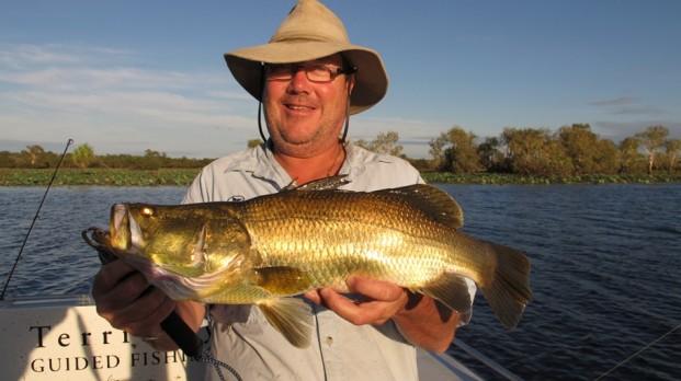 barramundi fishing charter corroboree billabong