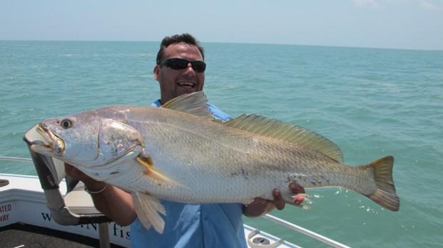 darwin fishing at its best