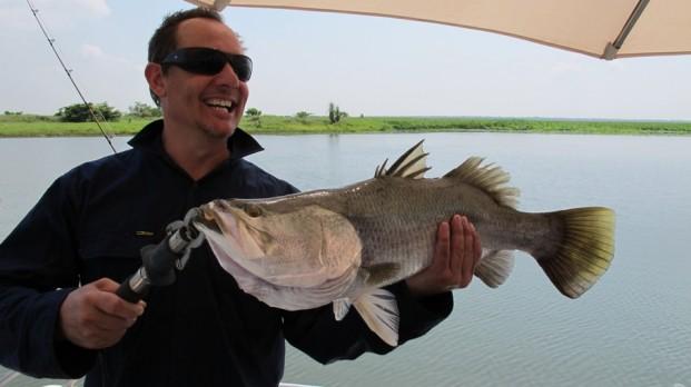 reel screamin barra fishing fun, top end style