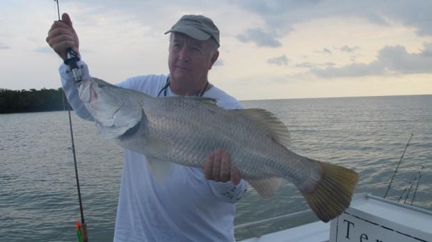 fishing the top end barra safari
