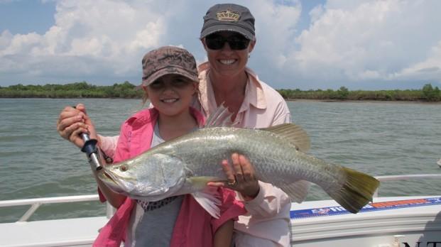 darwin fishing charter Leaders creek