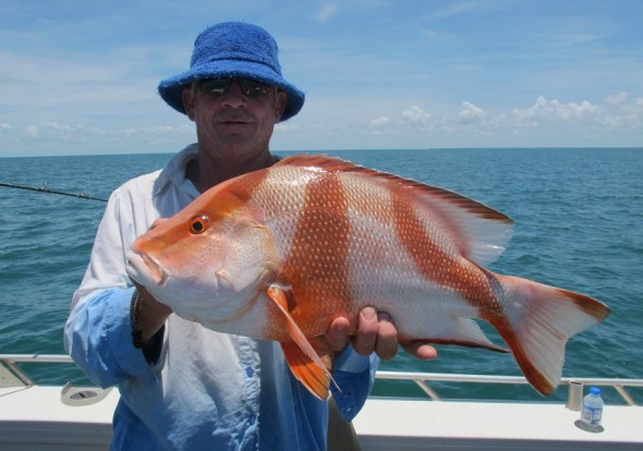 fishing charter darwin dundee waters day trip