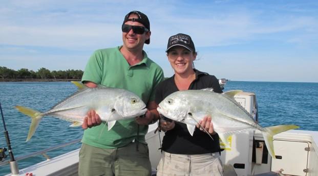 one day fishing charter darwin