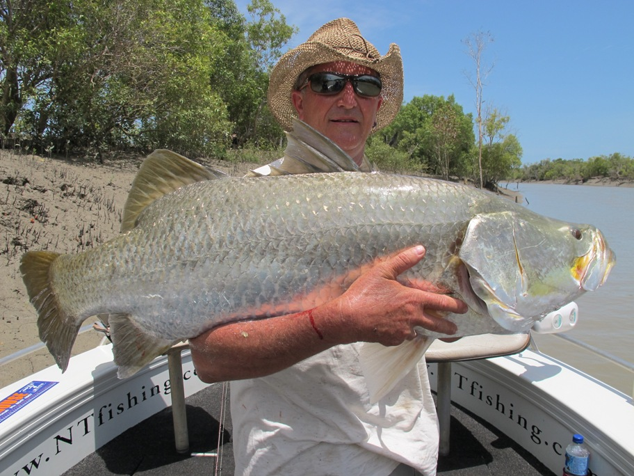 fishing charters darwin barramundi run off fishing