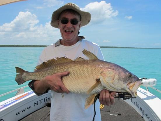 fishing darwin charter vernon island bluewater